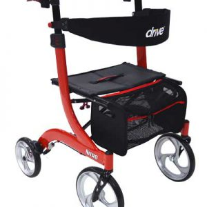 nitro-rollator-red
